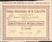Union Alimentaire De La Cote-d'or (dijon 21) (k)