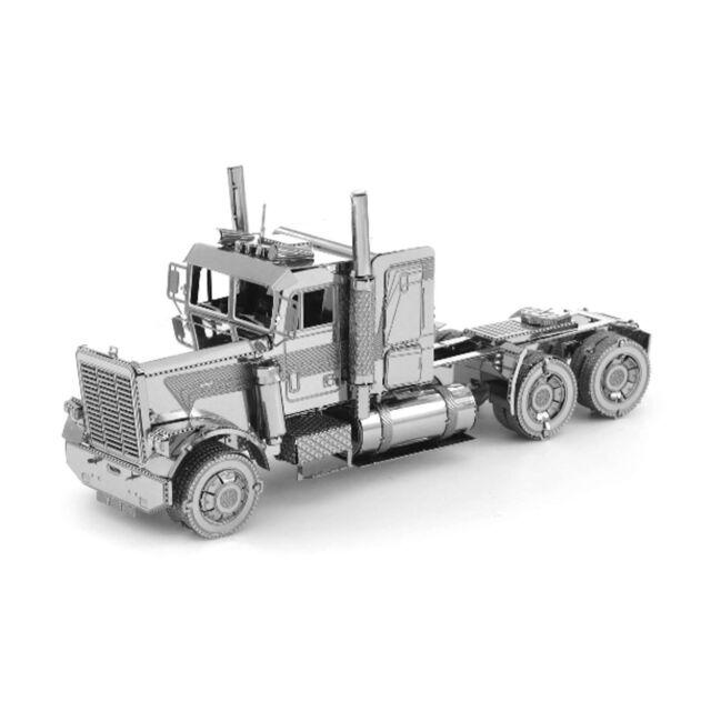 Fascinations Metal Earth Freightliner FLC LONG NOSE TRUCK Steel 3D Model Kit New