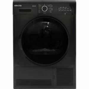 Electra TDC9112B B Rated 9Kg Condenser Tumble Dryer Black