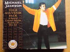 MICHAEL JACKSON - Tour Souvenir Pack 4 x CD Singles 1992 Sony *BOX DAMAGE*