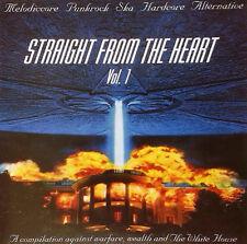 STRAIGHT FROM THE HEART Vol.1 Sampler CD (2001 Burning paradise) neu!