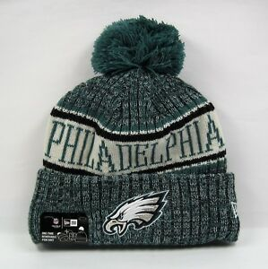 New Era Men s NFL Philadelphia Eagles Midnight Green Team Winter ... 89d579bdb18