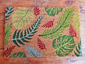 Türmatte Bunt Urwald 60 x 40 cm Fußmatte Schmutzmatte Fußabtreter Kokosfasern