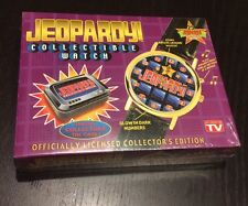 NIB VTG JEOPARDY GAME TV SHOW COLLECTOR WATCH THEME SONG TIN SEALED FREE SHIP