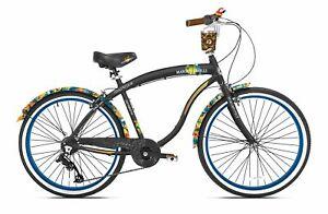 Margaritaville-26-034-Cruiser-Men-039-s-Cruiser-Bike-with-Sturdy-Handles-amp-Alloy-Frame