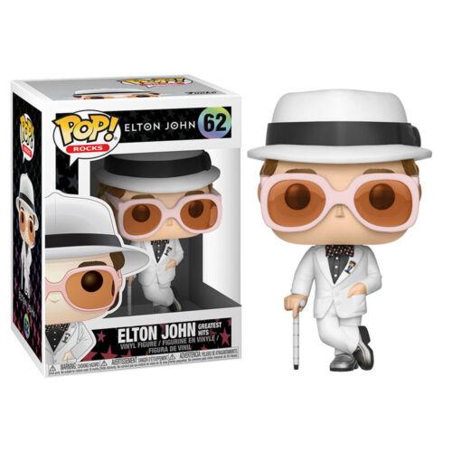 * Nuovo di Zecca * Pop Rocks Elton John Pop Figura in vinile Greatest Hits