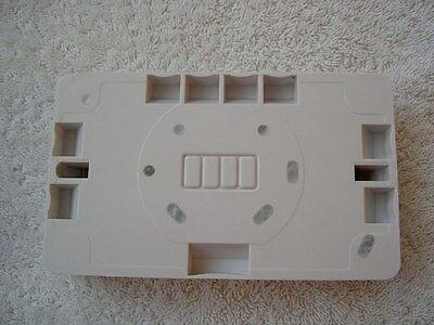 BOX OF 10 Ashley 1 gang Mounting Box 28mm Deep P81D