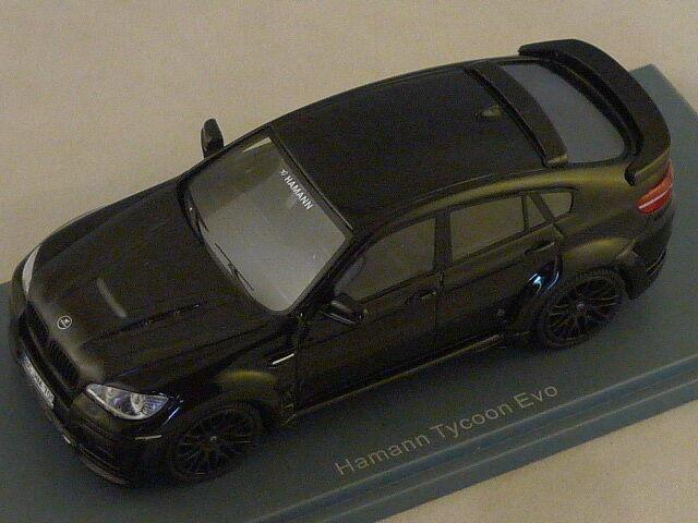 NEO 45705 - Hamann Tycoon Evo nero BMW - 2011    1 43