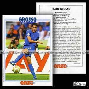 GROSSO-FABIO-INTER-Fiche-Football-Calcio-2006