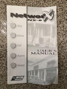 ge caddx nx-8 user manual