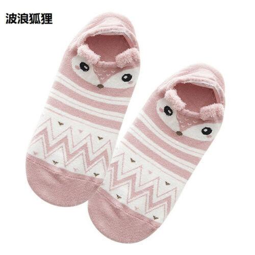 3D Funny Cartoon Lovely Soft Women Girls Cute Animal Cotton Warm Ankle Sox Socks