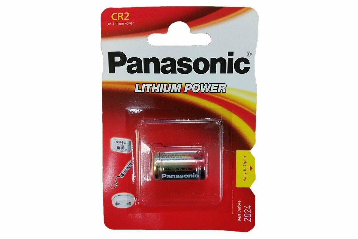Panasonic CR2 3V Lithium Power Photo Battery DLCR2 KCR2 CR17355 Camera