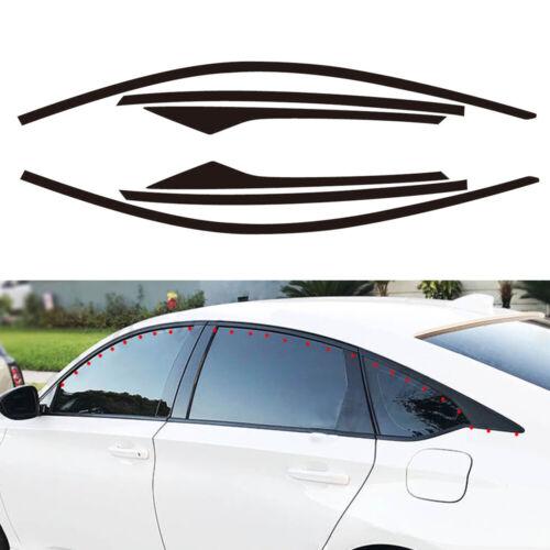 2× Side Window Sticker Decal for 2018 Honda Accord 10th Sedan 4 Door LIP
