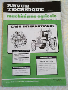 REVUE TECHNIQUE TRACTEUR CASE INTERNATIONAL IH 1255 1455 XL 1255XL 1455XL