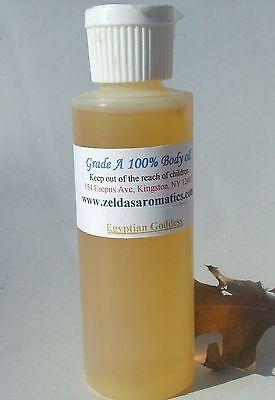 Zelda's Egyptian Goddess Musk Wholesale Body Oil 4 oz Bottle