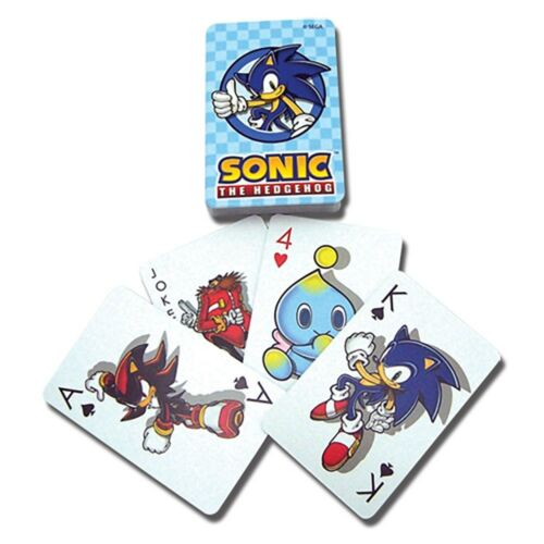 Sonic the Hedgehog Sonic Playing Cards