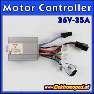 Ersatzteil Elektro-Scooter Motor Controller 36V 35A OK10S 1000W ECO-Turbo klein