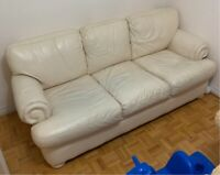 White Leather Sofas Buy And Sell Furniture In Toronto Gta Kijiji Classifieds