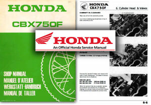 honda cbx750f service workshop repair factory manual cbx 750 shop