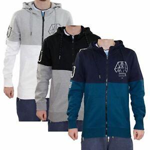 New-Mens-Smith-amp-Jones-Hoodie-Lined-Sweatshirt-Printed-Branded-Zip-Thru-Jacket