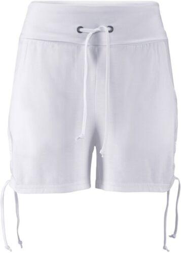 Gr 32 // 34 Schöne Wellness Shorts mit Bequembund in Weiß Q1988-978147