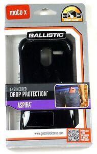 AP1187-A025-BALLISTIC-Motorola-Moto-X-Aspira-Case-Black-Dark-Charcoal-Retail