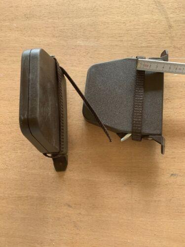 """mit Gurt 14 mm """"nicht nagelneu"""" 2 Stck Lagerware Mini Schwenkwickler braun"""