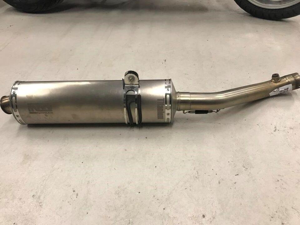 Honda CBR 600 F4 årg. 2002 Udstødning