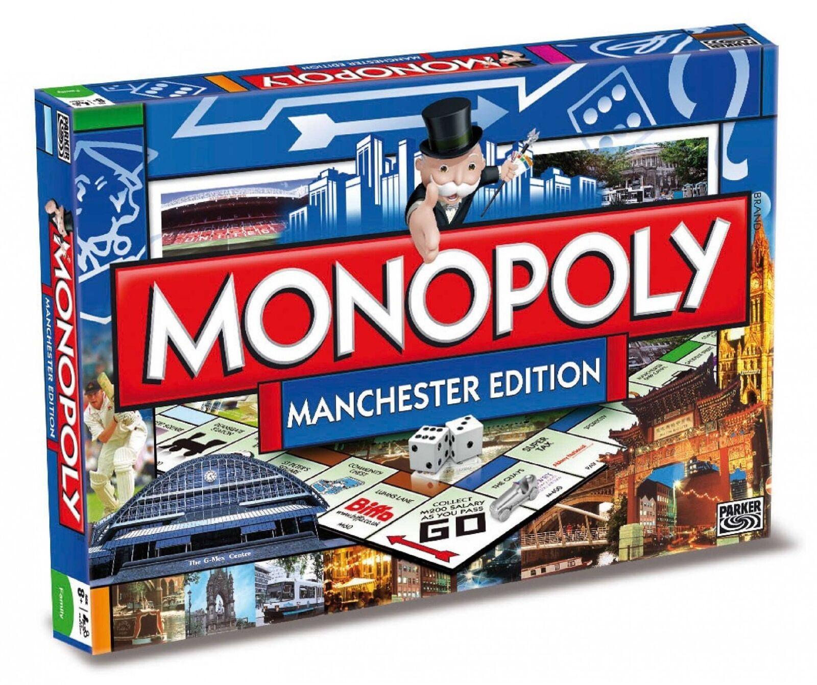 ORIGINALE  Monopoly uomochester edizione inglese gioco di società gioco da tavolo NUOVO  prezzi equi