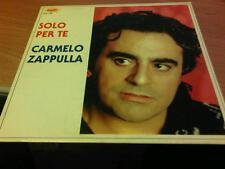 LP CARMELO ZAPPULLA SOLO PER TE GULP 1362 1989
