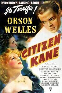 Citizen-Kane-Movie-Mini-Poster-4-034-x-6-034-Fridge-Magnet-Glossy-Photo-Quality
