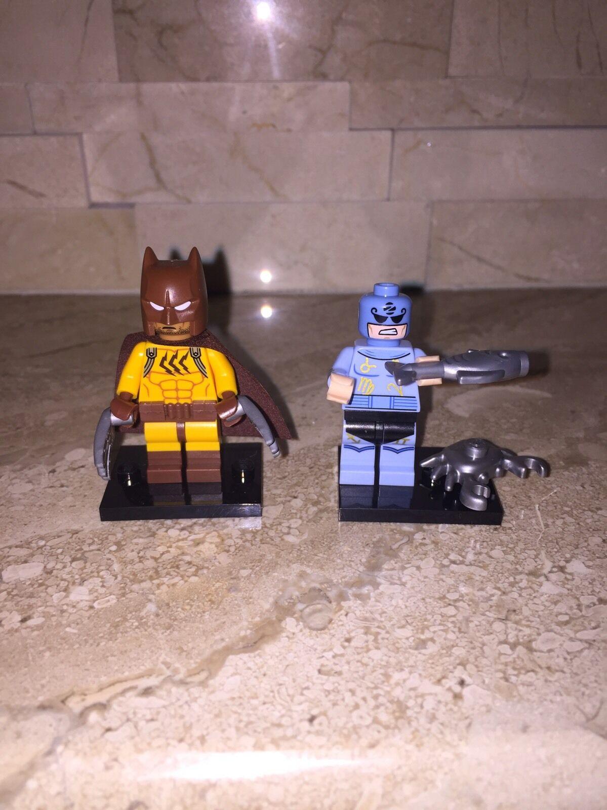 LEGO THE BATMAN MOVIE MINIFIGURE MASTER SET OF 2 ZODIAC MASTER MINIFIGURE & BATMAN CATMAN 5d8575