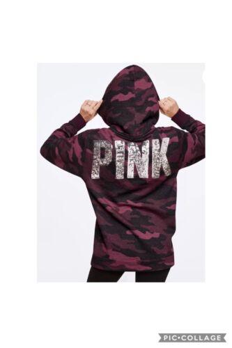 Bling à pendentif rose New Pull Secret campus de et capuche Sherpa Victoria's rayé petit XX7qwCxaf