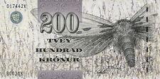 Färöer Inseln / Faeroe Islands 200 Kronen (20)03 Pick 26 (1)
