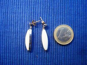 B18-Paire-Boucle-Oreille-BO-Argent-Massif-925-Opaline-lot-bijou