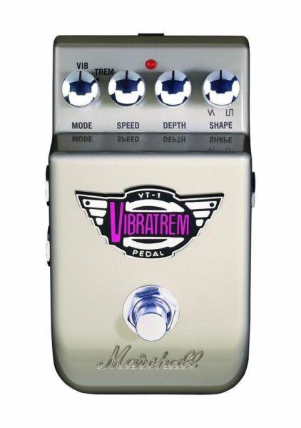 marshall vt 1 vibrato guitar effect pedal for sale online ebay. Black Bedroom Furniture Sets. Home Design Ideas
