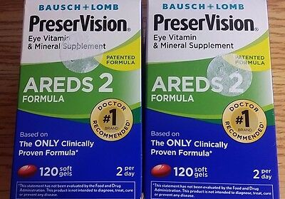 PreserVision Areds 2 Vitamin And Mineral Supplement 240 Count Soft Gels10/2018