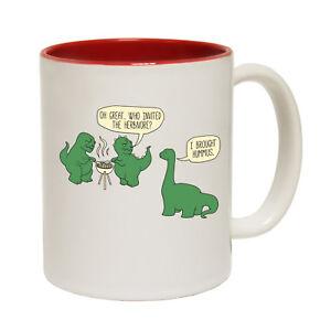 Funny-Mugs-Who-Invited-The-Herbivore-Joke-Coffee-Tea-Dinosaur-NOVELTY-MUG