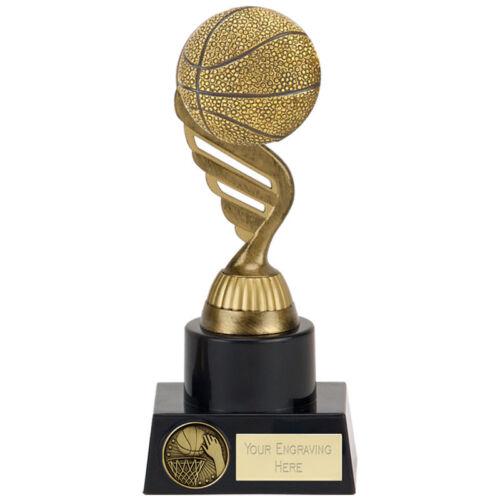 Basketball Trophy 3 tailles disponibles Gravé FREE Cour Filet Balle Panier trophées