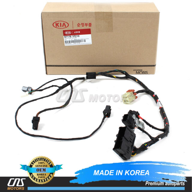 2005 kia sportage heater wiring kia 971761f210 genuine oem factory original harness for sale  genuine oem factory original harness