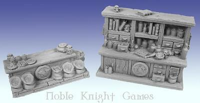 Scotia Grendel Fantasy Mini Resin 25mm Apothecary's Shop Pack MINT
