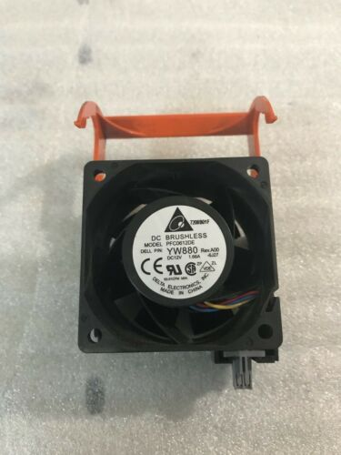 Lot of 4 Delta Electronics PFC0612DE Server Cooling Fans YW880 PowerEdge 2950