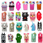3D Cartoon Soft Silicone Phone Case Cover Back Skin For Samsung Galaxy On5 G5500