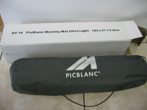 Isomatte Trekking PICBLANC selbstaufblasend HT-15 2,5cm