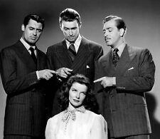 Katherine Hepburn, Cary Grant & James Stewart 10 x 8 UNSIGNED photo - P906