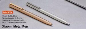 Xiaomi Miija Sing Pen Boligrafo ORIGINAL 100% Pluma + Recambios iM5vXCO3-09161822-805306102