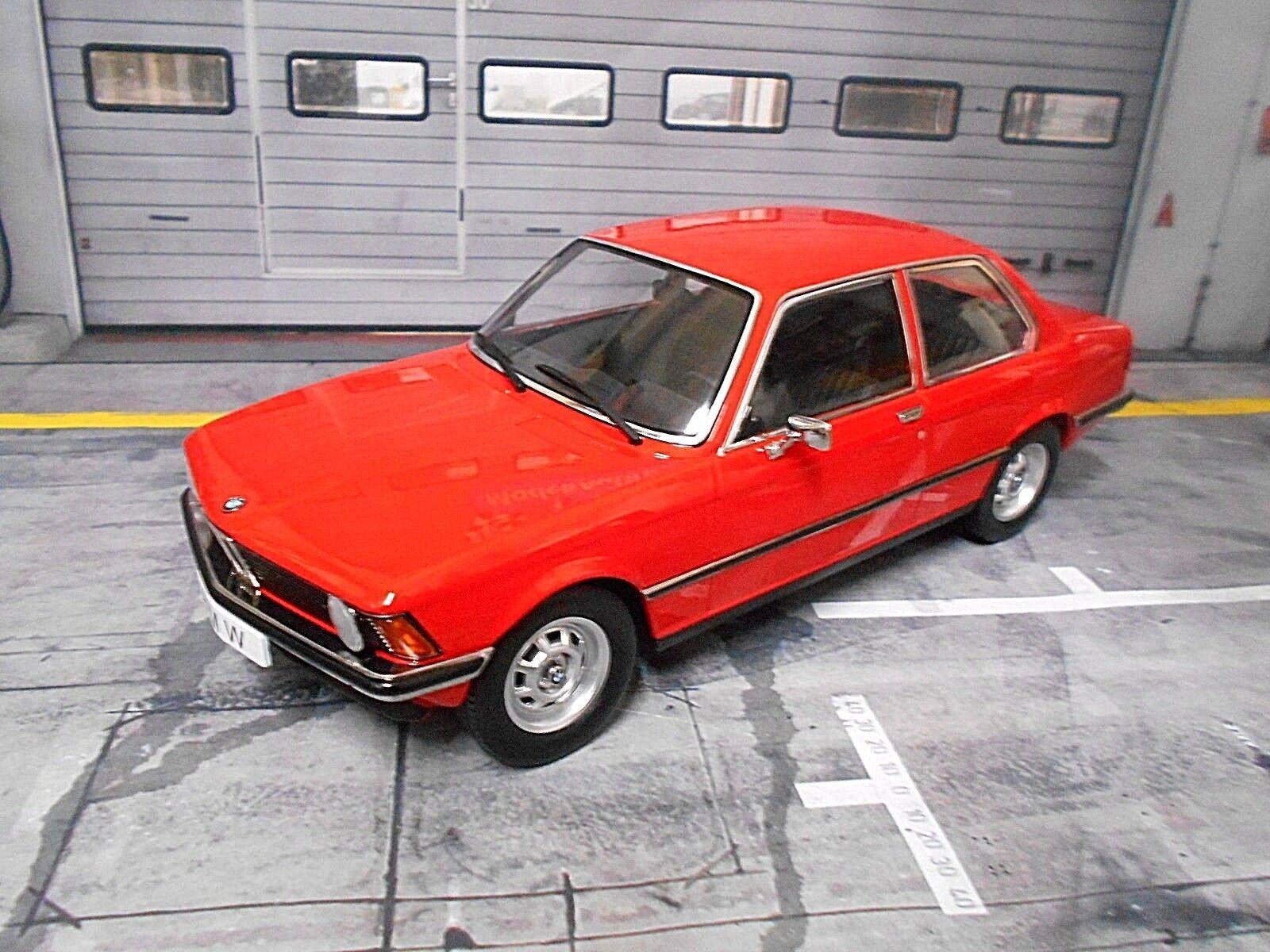 BMW 318i 318 3er 3er 3er Reihe E21 rot rot 1975 Metall NEU Resine KK  1 1500 1 18  | Won hoch geschätzt und weithin vertraut im in- und Ausland vertraut  6ce211