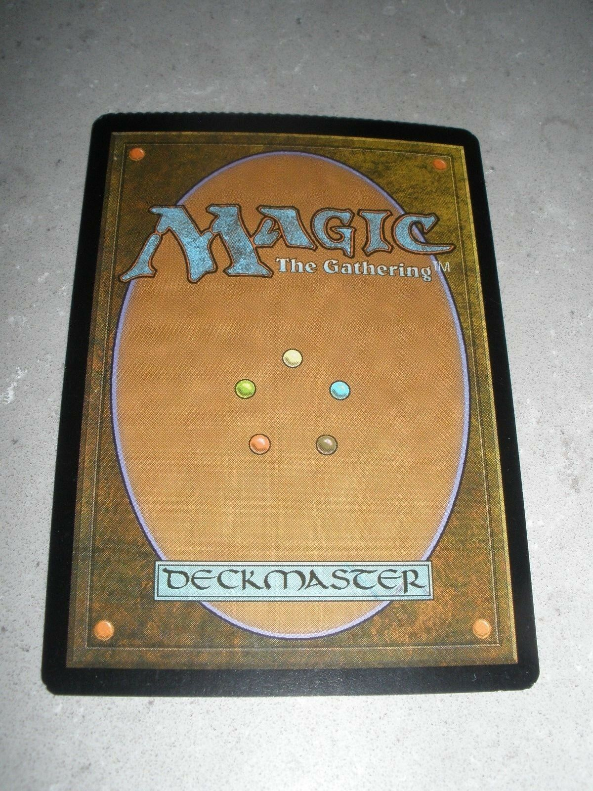 MTG Magic Misprint Misprint Misprint Crimped Foil Textless Promo Cryptic Command x1 EX LP 8eb601