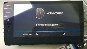 "Orig VW Golf 7 5G Discover Pro Facelift Touchscreen 9,2"" Bedieneinheit 5G6919606"