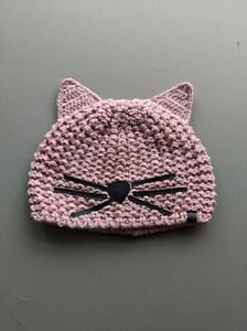 KARL LAGERFELD CHOUPETTE CAT BEANIE HAT rare gift Christmas - Light Pink